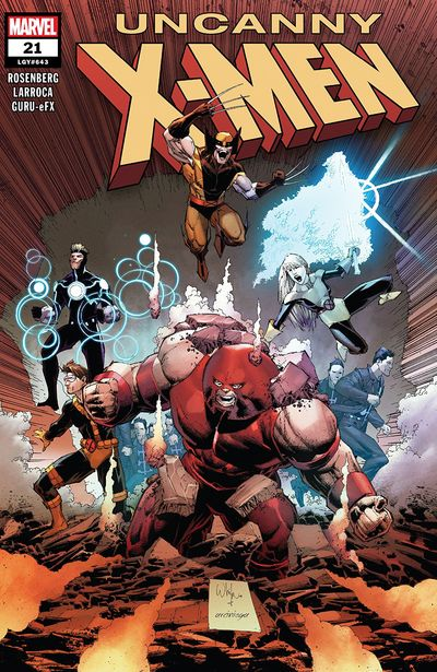 Uncanny X-Men #21 (2019)