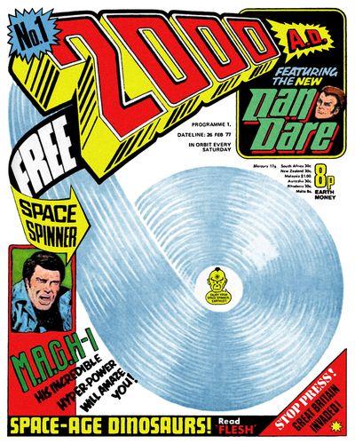 2000AD #1 – 2137 (1977-2019)