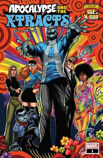 Age of X-Man – Apocalypse and the X-Tracts #1 – 5 (2019)