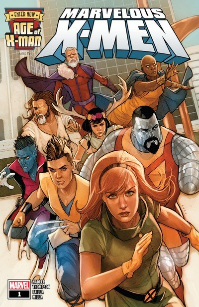 Age of X-Man – The Marvelous X-Men #1 – 5 (2019)
