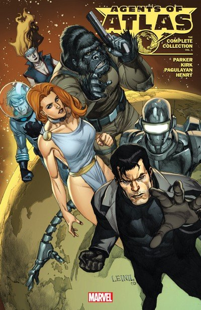 Agents of Atlas – The Complete Collection Vol. 1 (TPB) (2018)