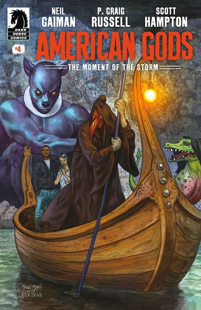 American Gods – The Moment Of The Storm #4 (2019)
