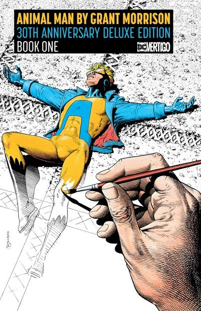 Animal Man by Grant Morrison 30th Anniversary Deluxe Edition Book 1 (2018)