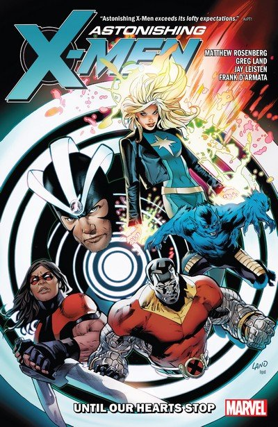 Astonishing X-Men by Matt Rosenberg – Until Our Hearts Stop (TPB) (2019)