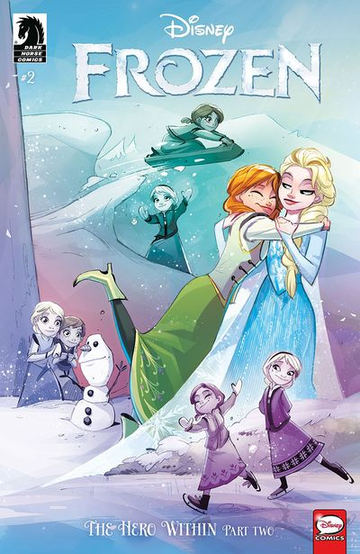Frozen – The Hero Within #2 (2019)