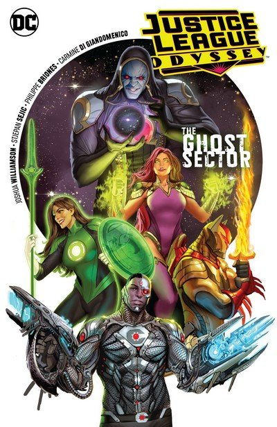 Justice League Odyssey Vol. 1 – The Ghost Sector (TPB) (2019)