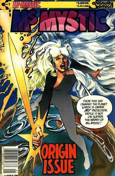Ms. Mystic Vol. 1 #1 – 9 (1987-1992)