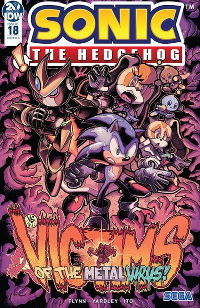 Sonic The Hedgehog #18 (2019)