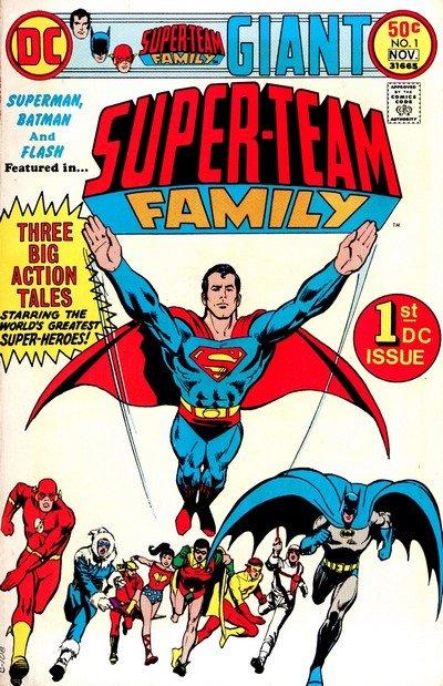 Super-Team Family #1 – 15 (1975-1978)
