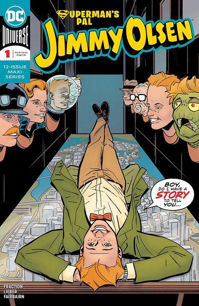 Superman's Pal Jimmy Olsen #1 – 12 (2019-2020)