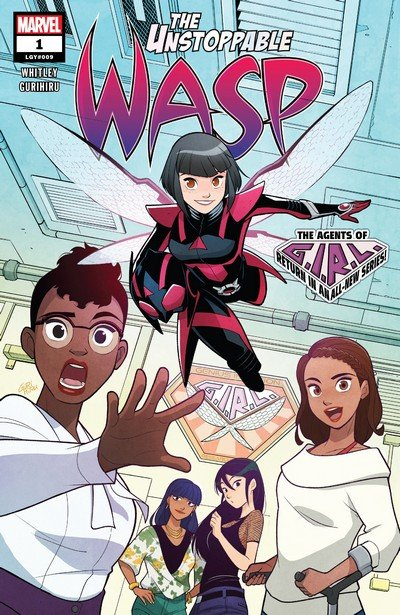 The Unstoppable Wasp #1 – 10 (2018-2019)