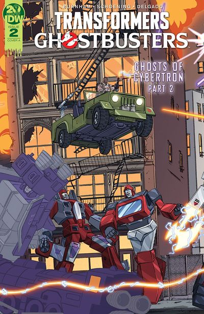 Transformers – Ghostbusters #2 (2019)