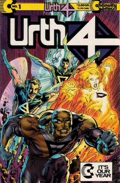 Urth 4 #1 – 4 (1989-1990)