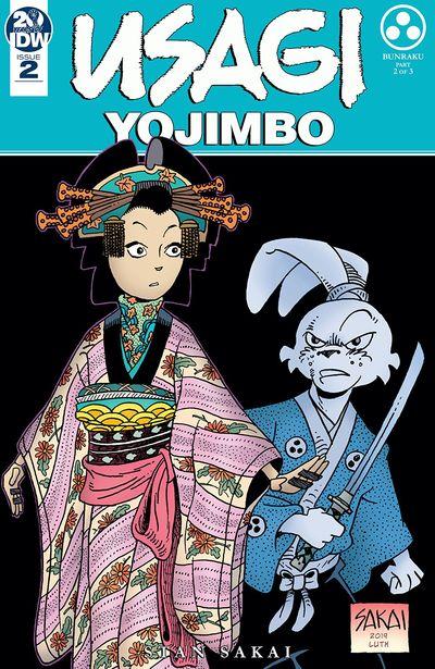 Usagi Yojimbo #2 (2019)