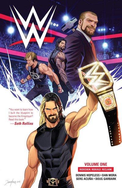WWE Vol. 1 – 5 (TPB) (2017-2019)