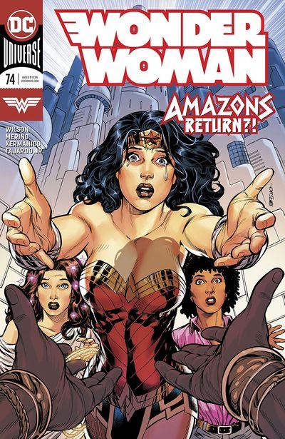 Wonder Twins #2 Main Cover STOCK PHOTO DC Comics 2019