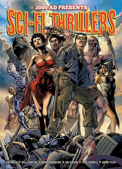 2000AD Presents – Sci-Fi Thrillers (2013)