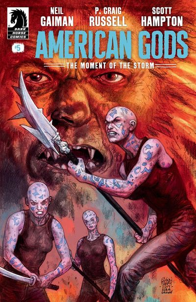 American Gods – The Moment Of The Storm #5 (2019)