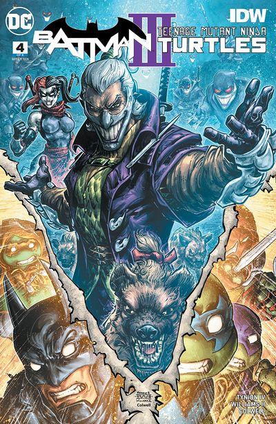 Batman – Teenage Mutant Ninja Turtles III #4 (2019)