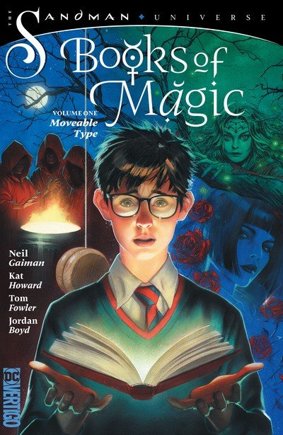 Books of Magic Vol. 1 – Moveable Type (TPB) (2019)