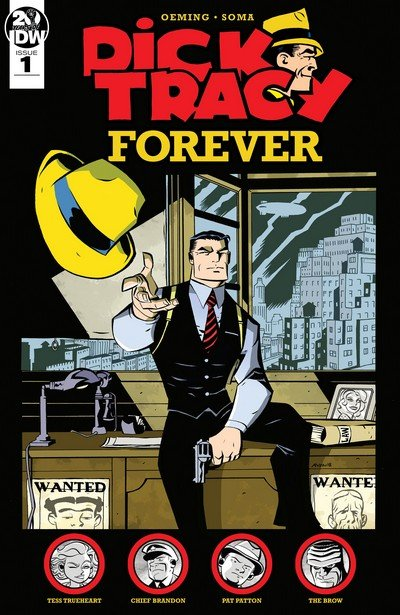 Dick Tracy Forever #1 – 4 (2019)