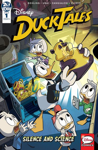 DuckTales – Silence And Science #1 (2019)