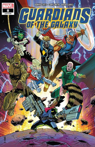 Guardians Of The Galaxy #8 (2019)
