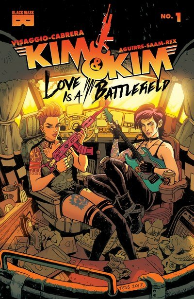 Kim & Kim – Love Is A Battlefield #1 – 4 (2017)