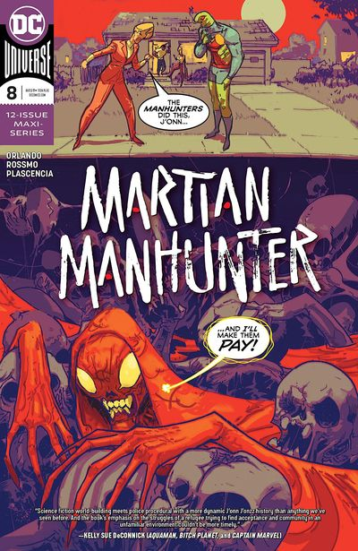 Martian Manhunter #8 (2019)