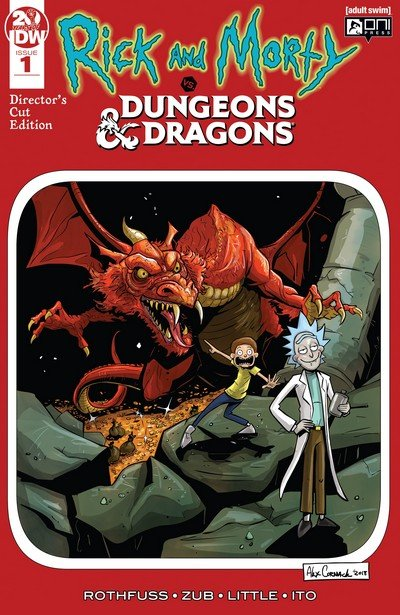 Rick and Morty vs. Dungeons & Dragons #1 – Director's Cut (2019)