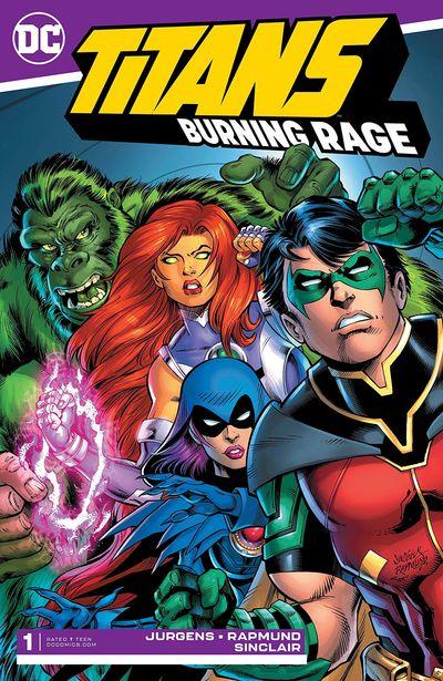 Titans – Burning Rage #1 (2019)