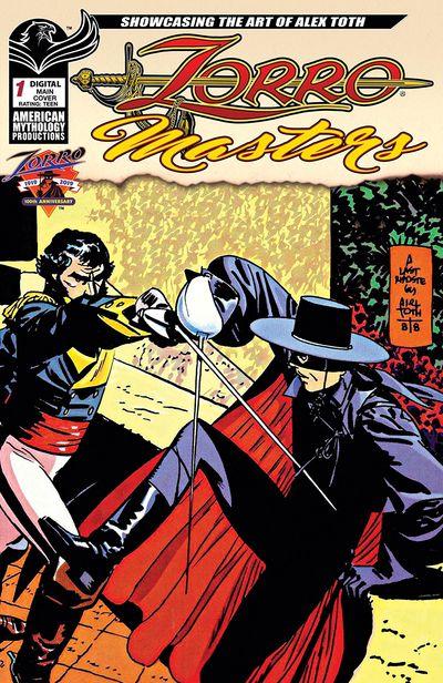 Zorro Masters – Alex Toth #1 (2019)