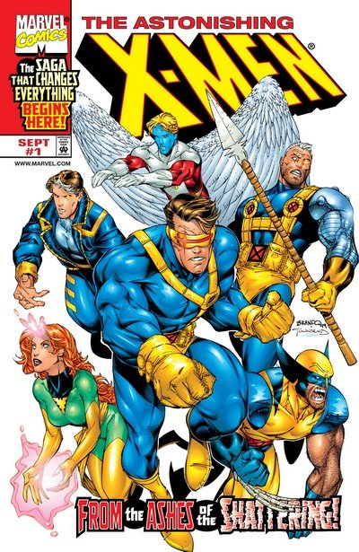 Astonishing X-Men #1 – 3 (1999)