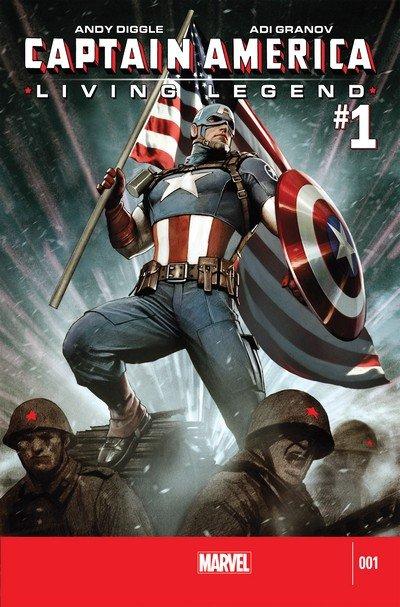 Captain America – Living Legend #1 – 4 (2013)