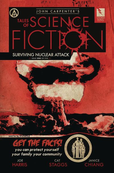 John Carpenter's Tales of Science Fiction – Surviving Nuclear Attack #1 (2019)