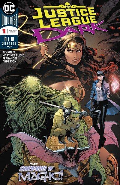 Justice League Dark #1 – 14 + TPBs (2018-2019)