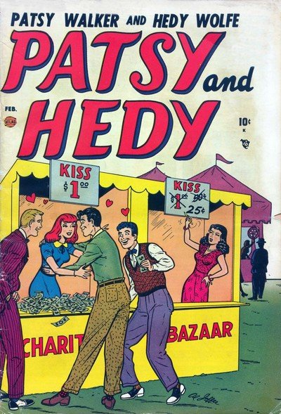 Patsy and Hedy #1 – 110 (1952-1967)