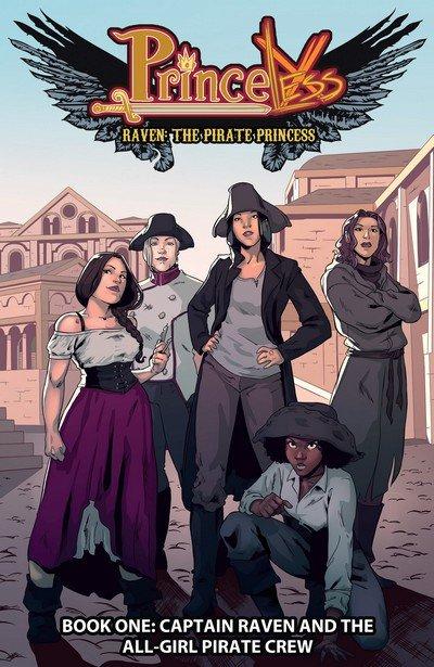 Princeless Raven – The Pirate Princess Vol. 1 – 8 (TPB) (2016-2020)