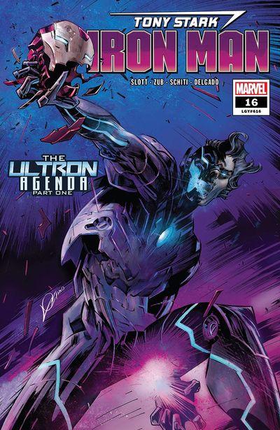 Tony Stark – Iron Man #16 (2019)