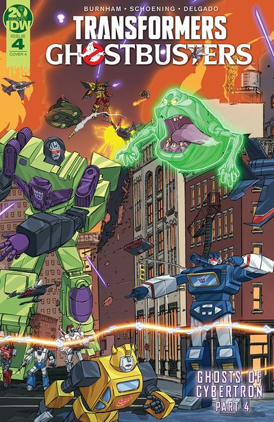Transformers – Ghostbusters #4 (2019)