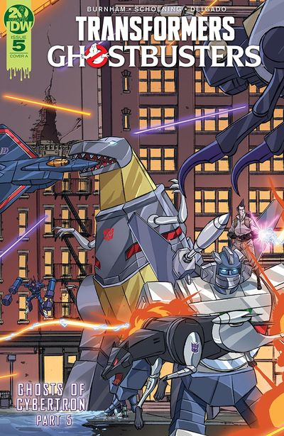 Transformers – Ghostbusters #5 (2019)