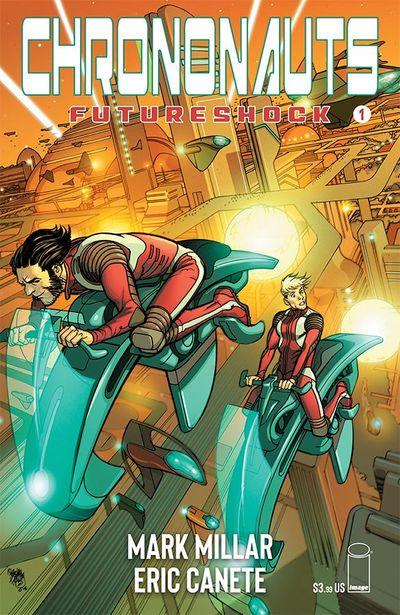 Chrononauts – Futureshock #1 – 4 (2019)