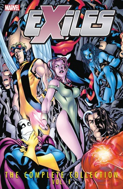 Exiles – The Complete + Ultimate Collection Vol. 1 – 6 (2009-2019)