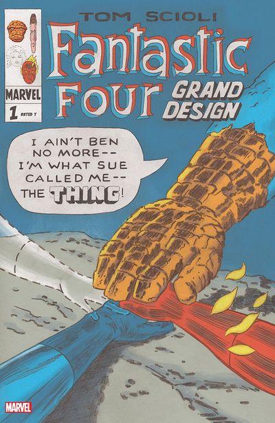 Fantastic Four – Grand Design #1 (2019)