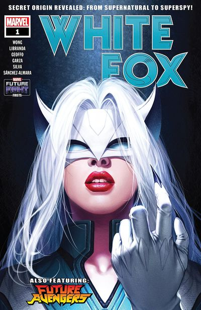 Future Fight Firsts – White Fox #1 (2019)
