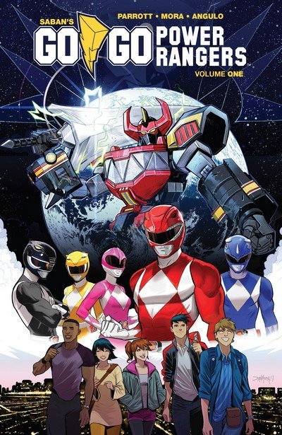 Go Go Power Rangers Vol. 1 (TPB) (2018)