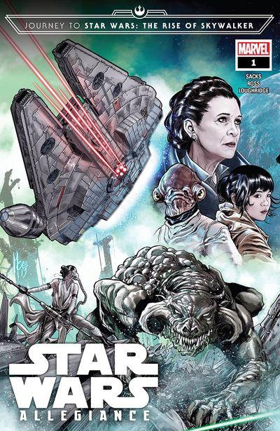 Journey To Star Wars – The Rise Of Skywalker – Allegiance #4 (2019)