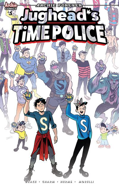 Jughead's Time Police #5 (2019)