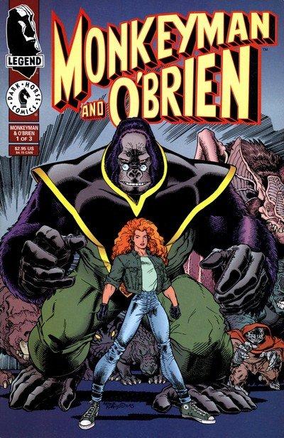 Monkeyman And O'Brien #1 – 3 (1996)