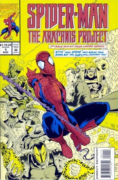 Spider-Man – The Arachnis Project #1 – 6 (1994-1995)